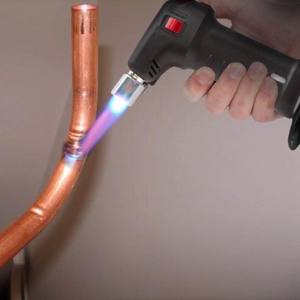 Fahrenheit Gáz forrasztópáka / Kézi flambírozó piezó gyújtással 28510