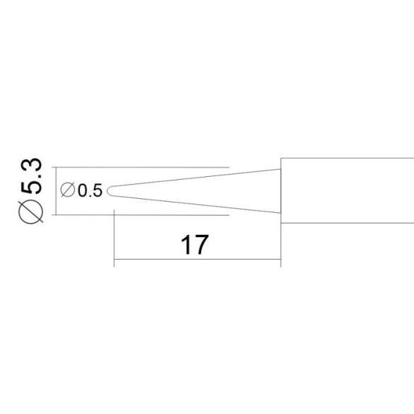Pákahegy 28003-as pákához 2 db / bliszter 28925N