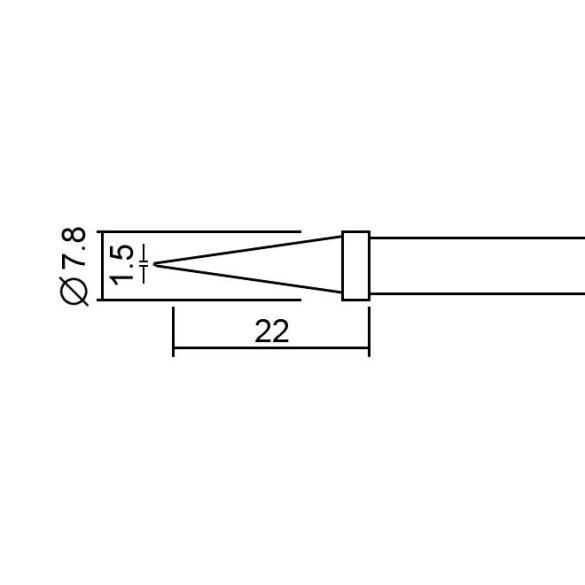 Pákahegy 28020-as pákához 2 db / bliszter