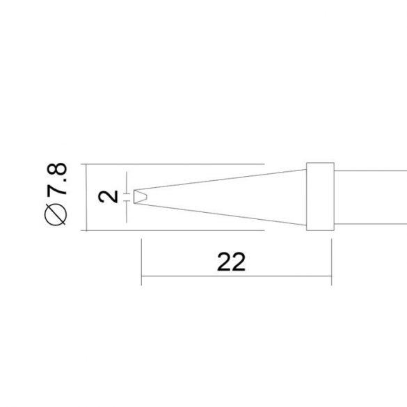 Pákahegy 28020-as pákához 2 db / bliszter   28934