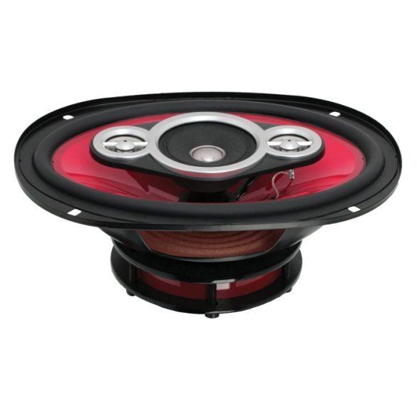 """MNC DevilX 6x9""""/165x236 mm, 150 W-os, 4ohm-os ovál autó hangszóró pár 37569"""