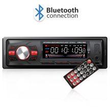 Autórádió  fejegység Carguard MP3-as autórádió  fejegység USB/SD/MMC/AUX bemenettel Bluetooth 39701
