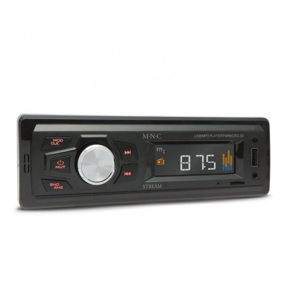 M.N.c. Stream kompakt fejegység, FM/USB/TF/AUX funkciókkal 39709