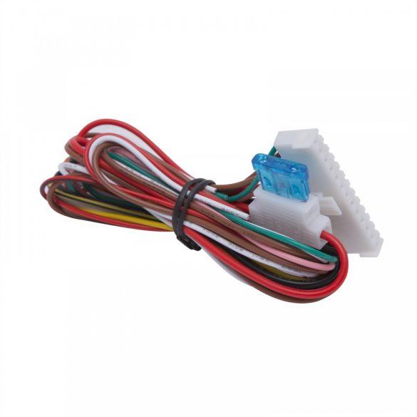 Távirányítós központizár vezérlő szett bicskakulcsos távirányítókkal 55075B