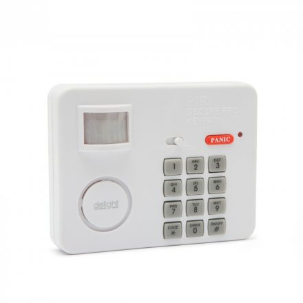 Mozgásérzékelős riasztó PIN-kód védelemmel Delight 55302