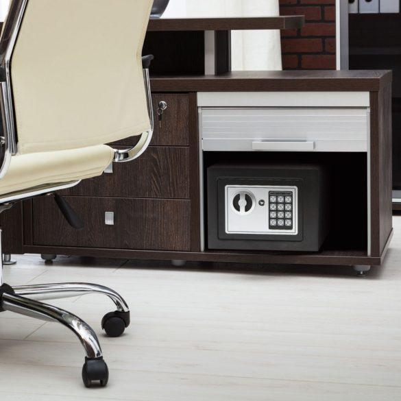 Smart széf 55580 páncélkazetta trezor programozható digitális. 230X170X170mm