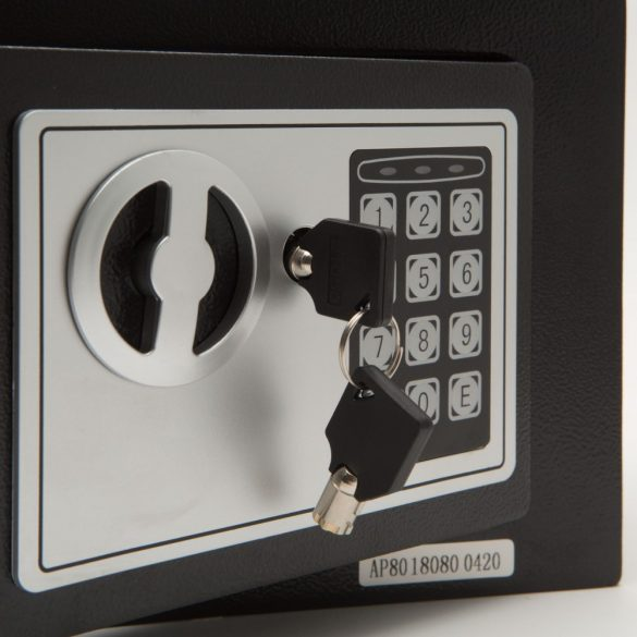 Smart széf 55581páncélkazetta trezor programozható digitális  310X200X200mm