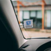 Autós parkolójegy tartó - öntapadós 55683