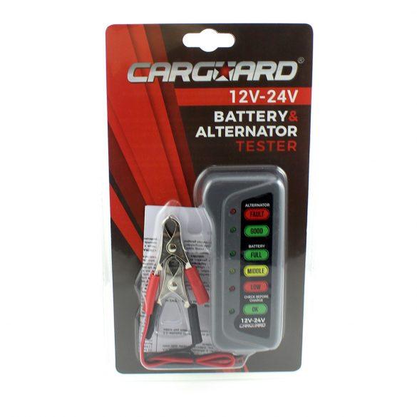 Akkumulátor, generátor teszter 12-14V Carguard 55776