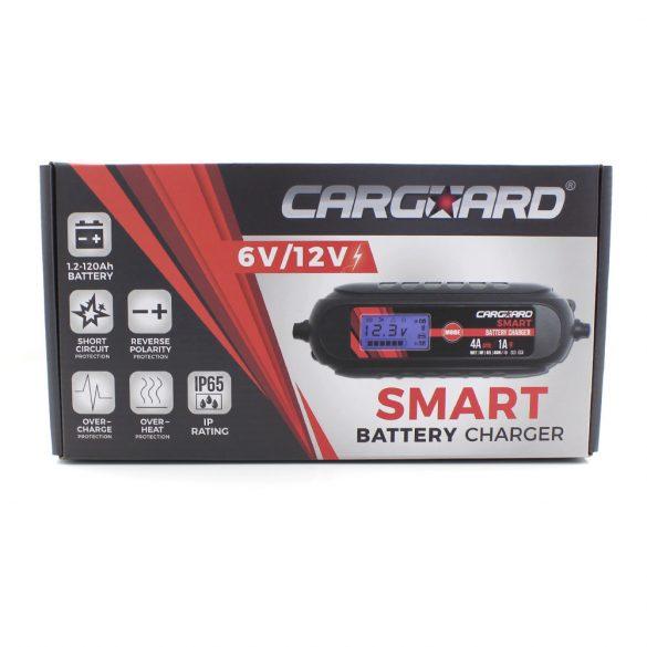 Akkumulátor töltő Carguard 6-12V 4A 55777B