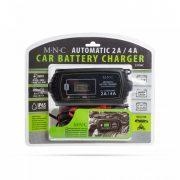 Autó akkumulátor töltő - 230 V - 2 A / 4 A - automata 55784C