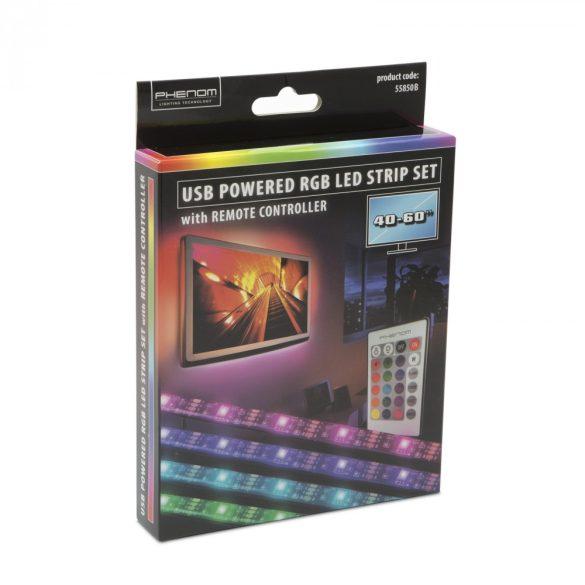"""Phenom LED szalag szett - TV háttérvilágítás - 40-60"""" 55850B"""