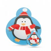 Tányér- és poháralátét - pingvin - 8 db / csomag 55947D