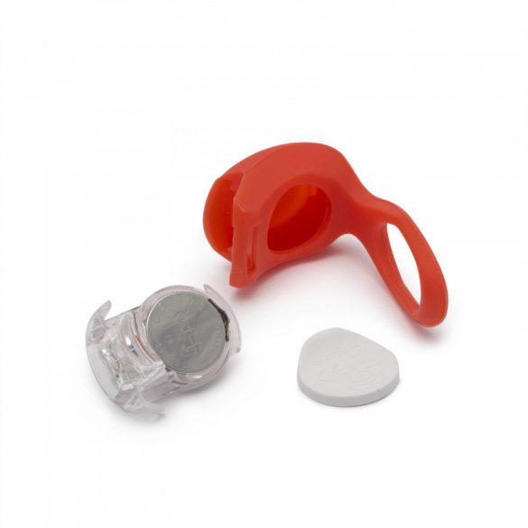 Delight  LED-es kerékpár lámpa szett szilikon borítással 57069