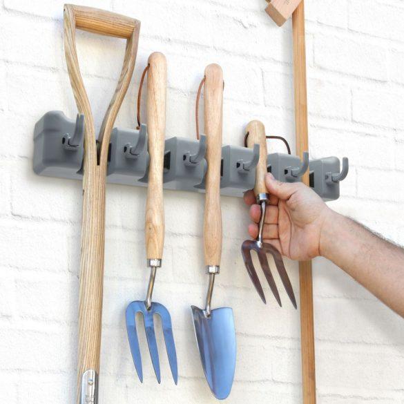 Univerzális fali takarítóeszköz/szerszám tartó - 4 részes 57149