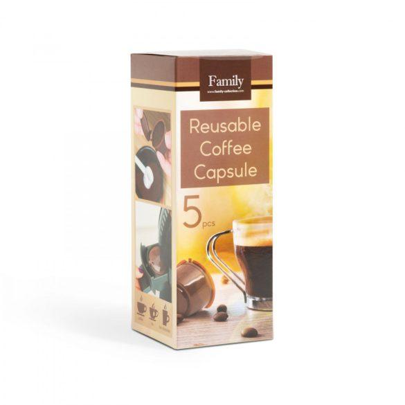 Újratölthető kávékapszula Dolce Gusto 5db-os 57369