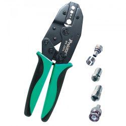 Krimpelő fogó, koax kábelhez, 230mm Pro's Kit 6PK-230PA
