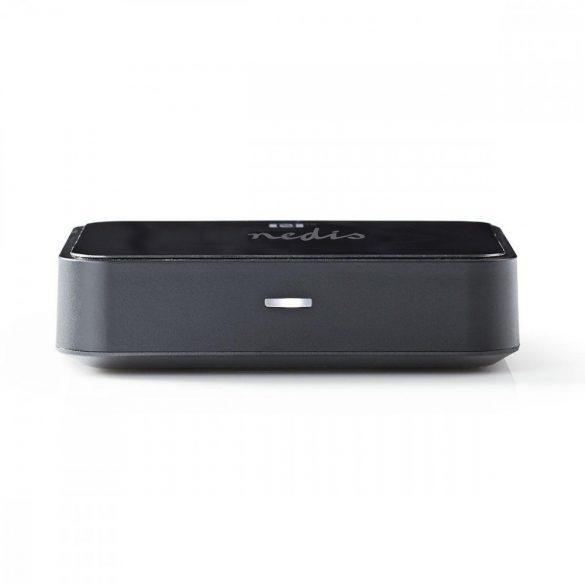 Vezeték Nélküli Audiovevő   Bluetooth®   Toslink kimenet   3,5 mm-es kimenet   Fekete