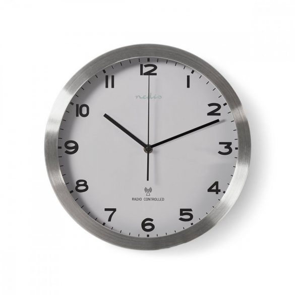 Rádióvezérelt Falióra | 30 cm | Fehér CLWA110RWT