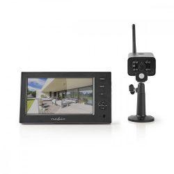 Digitális vezeték nélküli kamerarendszer 2,4GHz Nedis CSWL140CBK
