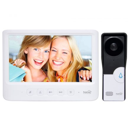 "Videó kaputelefon 7"" ultra vékony színes monitor  DPV 26"