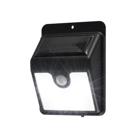 Home Szolárpaneles LED lámpa mozgásérzékelővel, fekete  FLP 1SOLAR