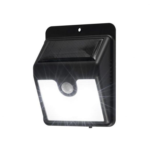 Home FLP 1SOLAR Szolárpaneles LED lámpa mozgásérzékelővel, fekete