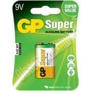 Super alkáli elem 9 V-os
