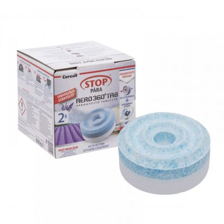 Henkel Ceresit Stop páramentesítő készülék utántöltő tabletta 2db/csomag levendula illatú.
