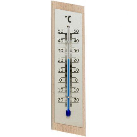Szobahőmérő natúr fa 2062
