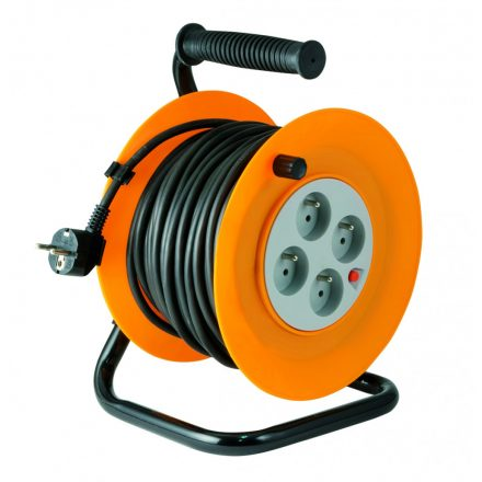 Kábeldob SAL 50m vezetékkel 3X1.5mm HJR 4-50/1,5