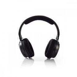 Vezeték Nélküli Fejhallgató teljes fület befedő Nedis HPRF200BK