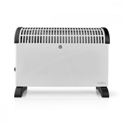 Elektromos radiátor hőfokszabályzó ventilátor 3 fokozat Nedis fehér 2000W HTCO20FWT