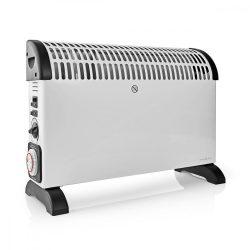 Radiátor | Hőfokszabályozó | Ventilátor Funkció | Időzítő Funkció | 3 Fokozat | 2000 W | Fehér Nedis HTCO30FWT