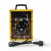 Ipari Fűtőventilátor | Hőfokszabályozó | 3 Fokozat | 2000 W | Sárga HTIF10FYW