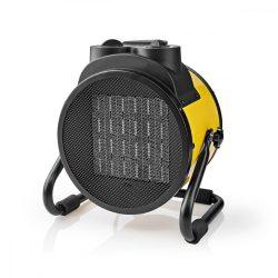 Ipari Kerámia Fűtőventilátor hősugárzó| Hőfokszabályozó | 3 Fokozat | 3000 W | Sárga HTIF30FYW