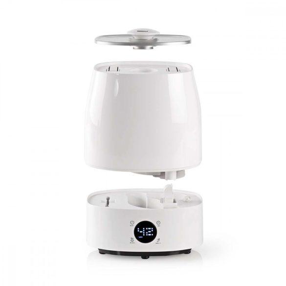 Párásító | 5,5 L | Higrométer | LED-képernyő | Időkapcsoló Nedis HUMI120CWT