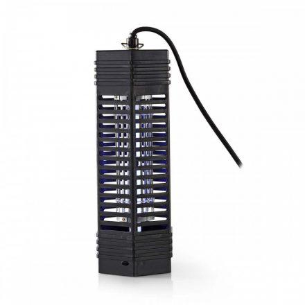 Elektromos beltéri rovarcsapda UV csőves  6W 50 m2 Nedis INKI110CBK6