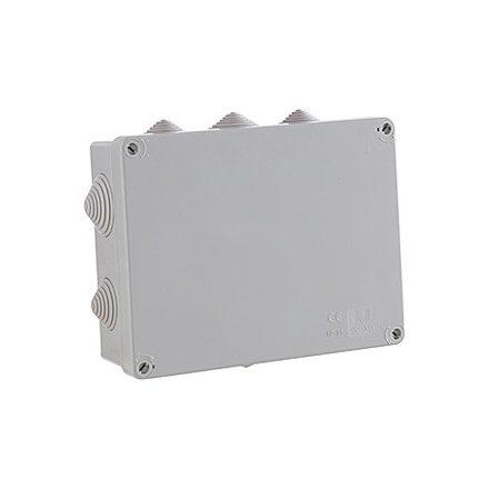 Kötődoboz membrános 231X182X85MM IP65