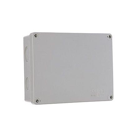 Kötődoboz perforált 231X182X85MM IP65