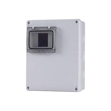 Ipari doboz üres 2-4M, ÁTLÁTSZÓ AJTÓVAL, IP65, 180X230X80MM
