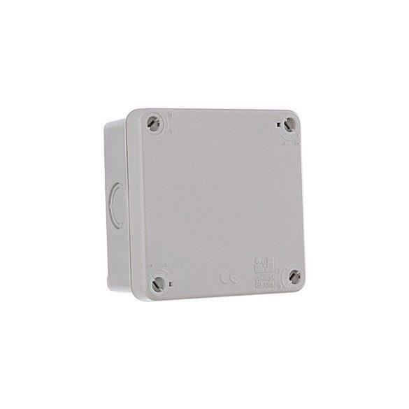 Kötődoboz sima 107X107X60MM IP65 (JG-3908)
