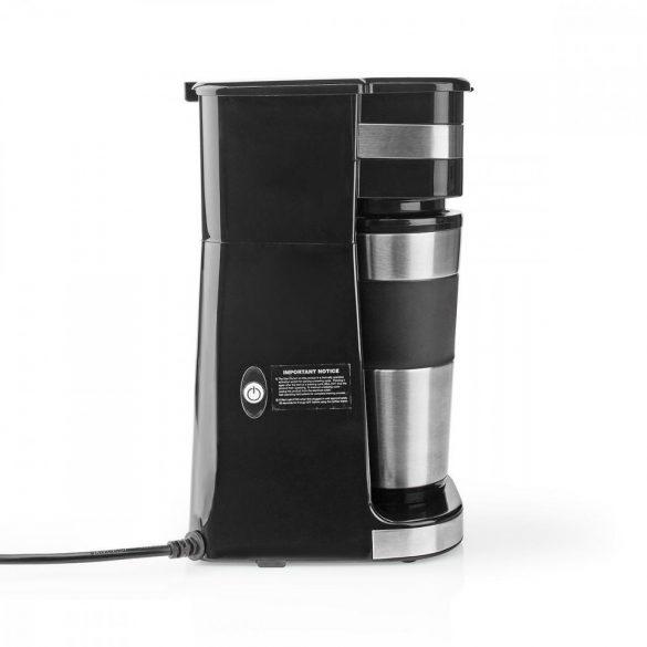 Egyadagos Kávéfőző   Duplafalú Utazóbögre   0,42 l   Időzítő
