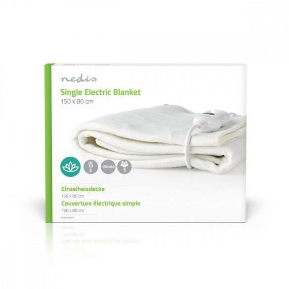 Elektromos takaró | 80 x 150 cm | 3 Hőbeállítás | Jelzőfény | Túlhevülés Elleni Védelem Nedis PEBL110CWT1