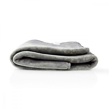 Elektromos takaró | 150×80 cm | 9 Hőfokozat | Jelzőfény | Túlhevülés Elleni Védelem Nedis PEBL130CWT1