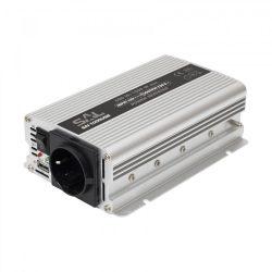 SAL Feszültségátalakító,inverter 500/1000W, USB aljzat SAI 1000USB SAL