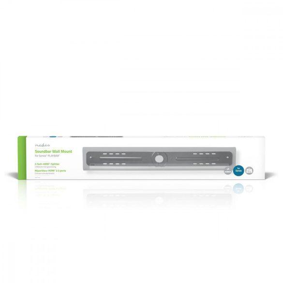 Hangprojektor konzol | Fali | Sonos® PLAYBAR™ | Max 15 kg Nedis SBMT50BK