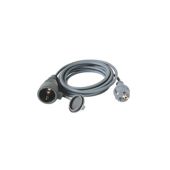 Hosszabbító Steck Védőérintkezős kültéri lengő hosszabbító zárófedéllel, gumi, 20m - SHL 20 3X1.5mm2