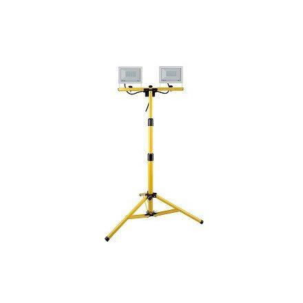 Állványos LED fényvető, 2*30W Steck SLF 302W