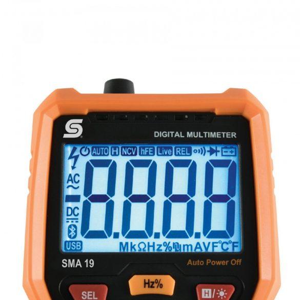 Sal digitális mérőműszer SMA 19